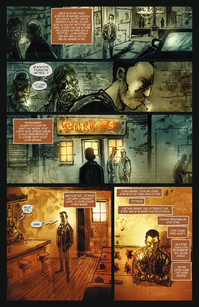 Ten Grand – Tome 1 de Straczinsky, Templesmith et Smith chez Delcourt