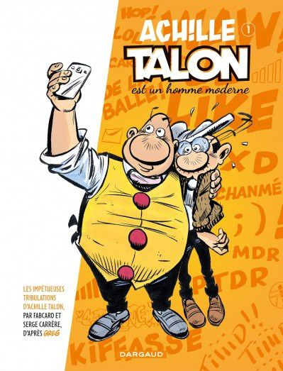 Les impétueuses tribulations d'Achille Talon : Interview de Fabcaro.