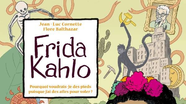 Interview de Flore Balthazar pour Frida Kahlo chez Delcourt.