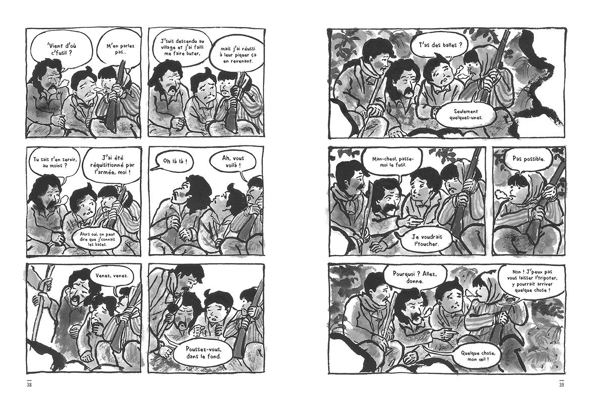 Jiseul de Keum Suk Gendry-Kim chez Sarbacane