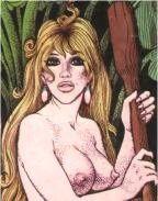 La page érotique d'Oncle Fumetti... Paulette et Georges Pichard.