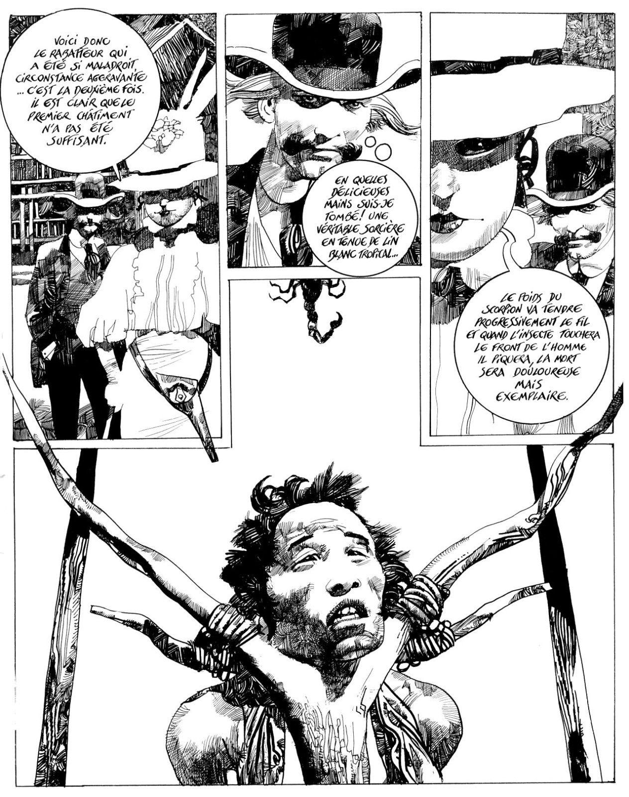Les bonnes lectures d'Oncle Fumetti...Le joyau mongol de Sergio Toppi chez Mosquito.