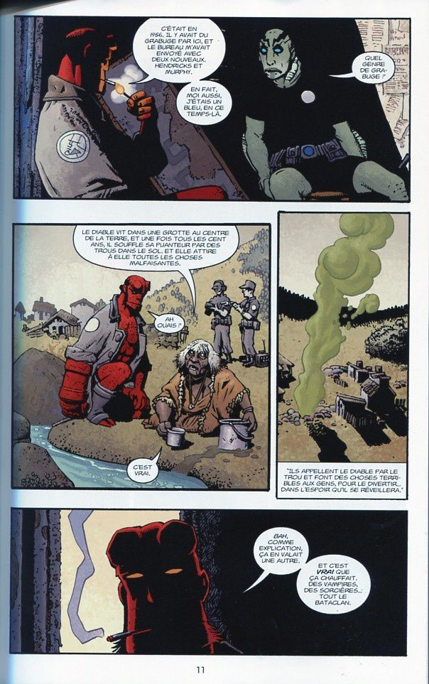 Hellboy 15 – Hellboy au Mexique de Collectif chez Delcourt.