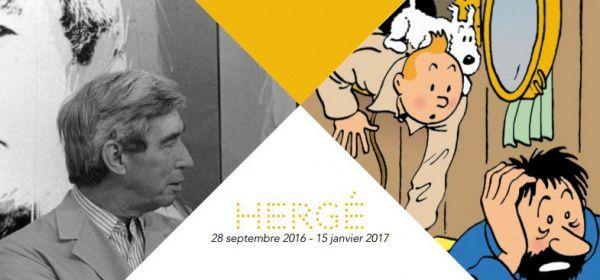 Exposition Tintin au Grand Palais du 28 septembre 2016 au 15 janvier 2017