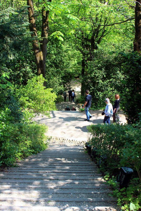 Le parc du Rosaire