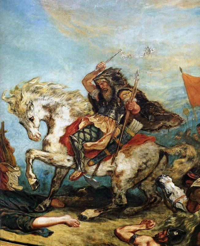 Par Eugène Delacroix - Web gallery of art