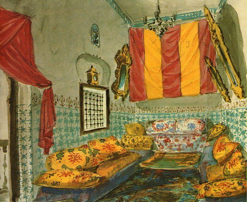 """livre """" Harems """" d' Annabelle d' Huart et Nadia Tazi - Ed. du Chêne 1980"""