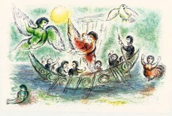 Ulysse et les sirènes - Marc Chagall