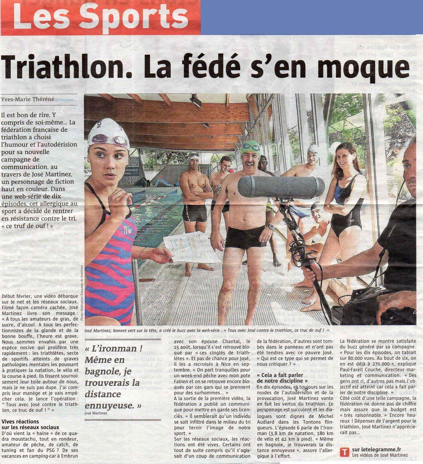 Tous avec José contre le Triathlon