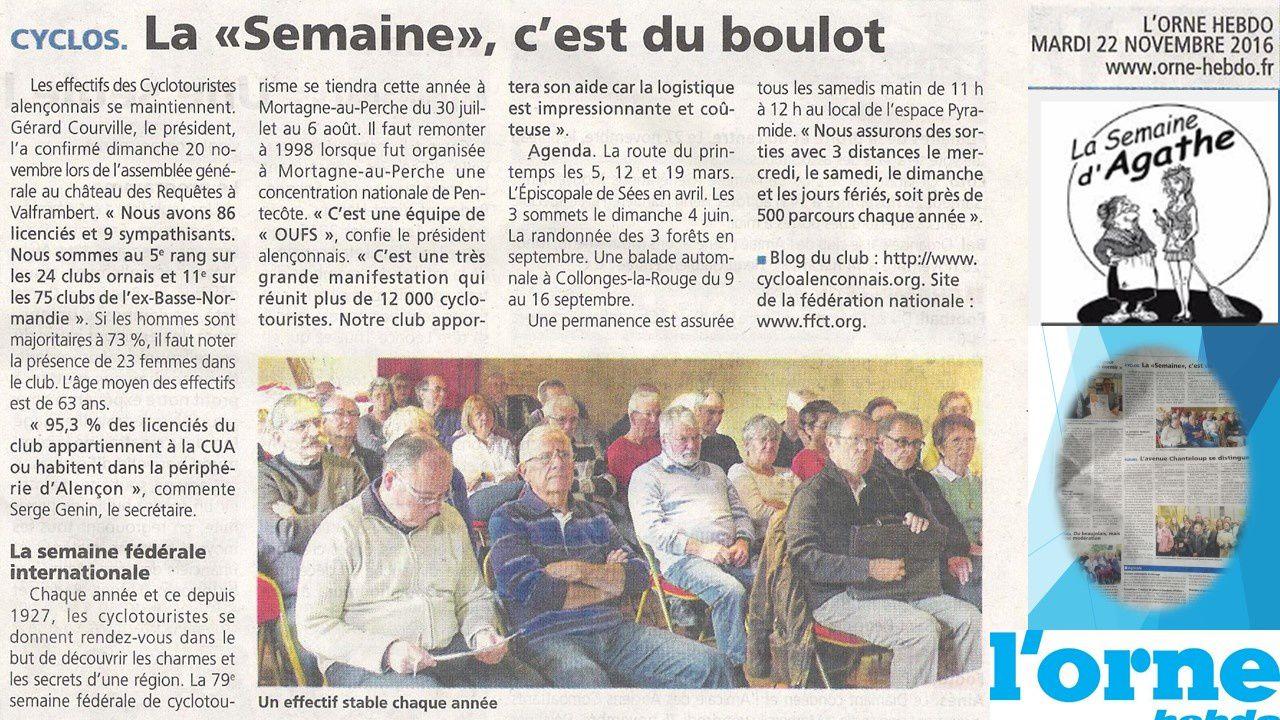 A.G. 20/11/2016 Château des Requêtes
