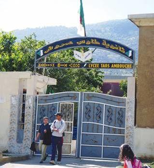 Le lycée Taous Amrouche s'est distingué avec le meilleur Taux de réussite au baccalauréat.