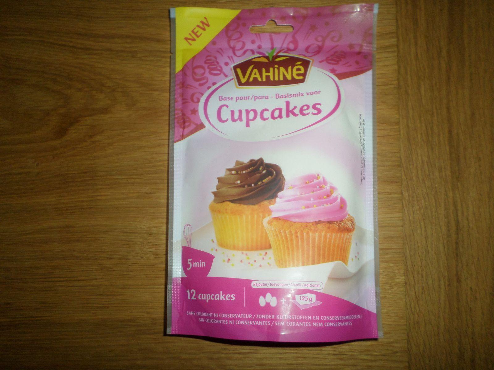Préparation pour cupcake