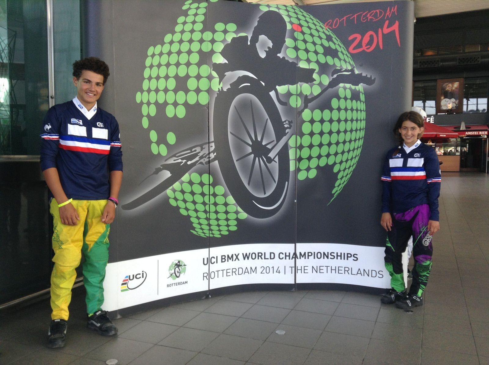 Championnat du Monde à Rotterdam