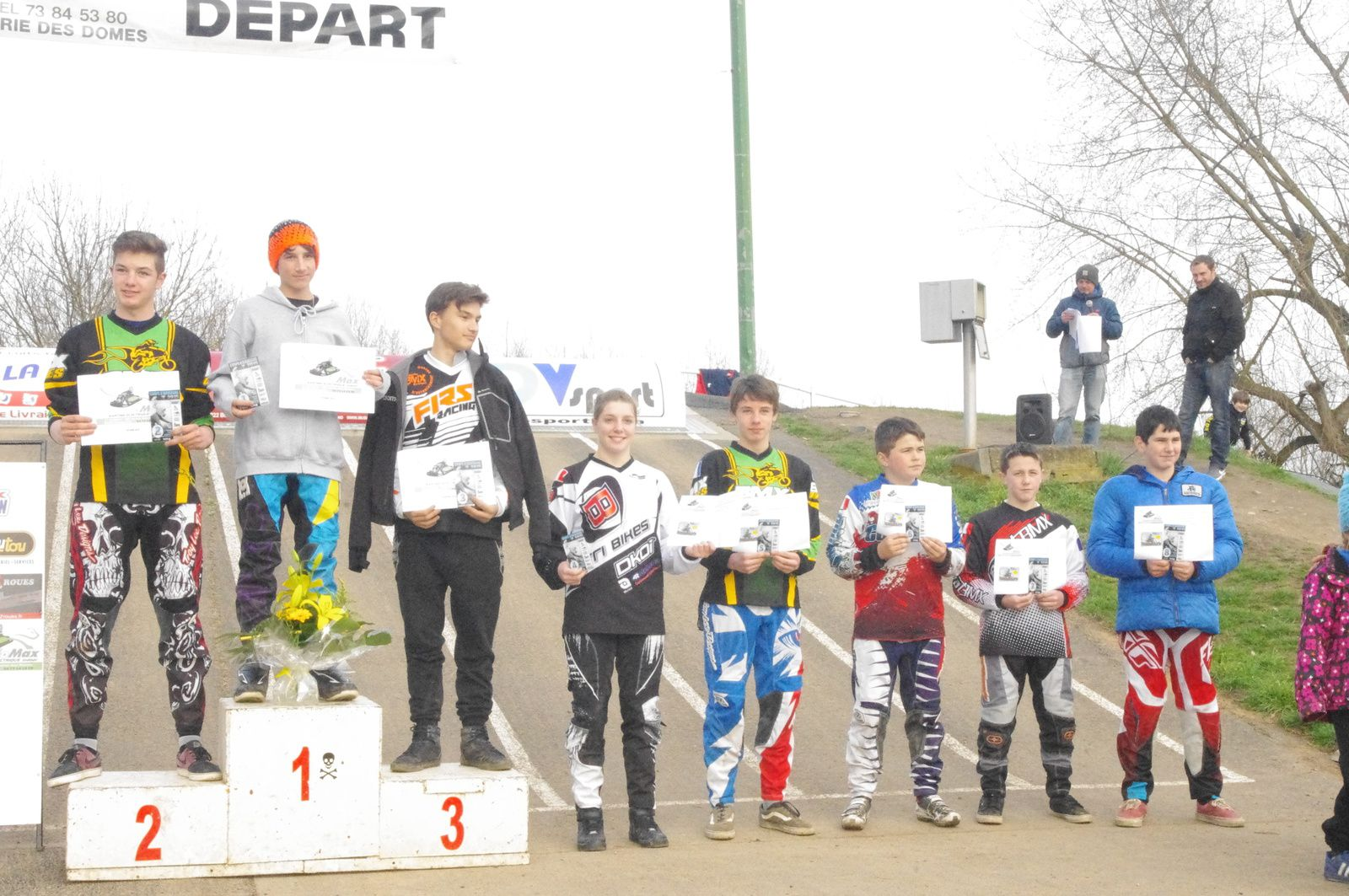 Résultats de la première manche de la Coupe d'Auvergne à Cournon, 22 mars