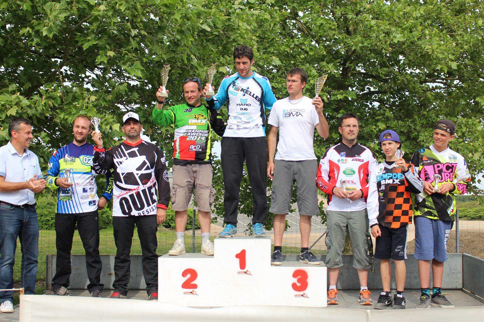 Résultats du championnat d'Auvergne àYzeure
