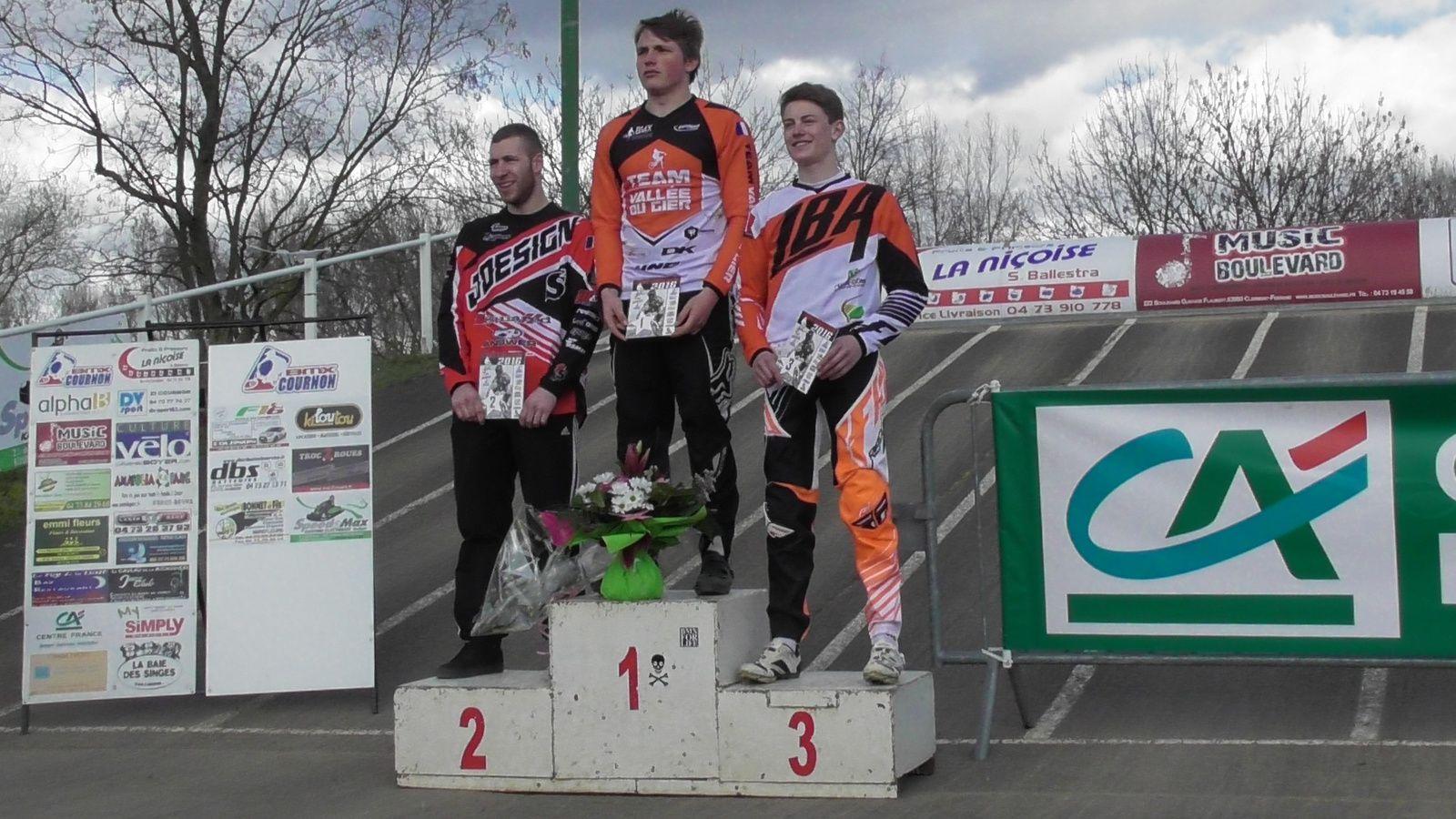 Résultats de la première manche de Coupe d'Auvergne à Cournon