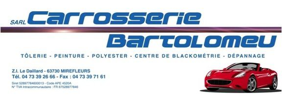 Un nouveau partenaire : la carrosserie Bartolomeu