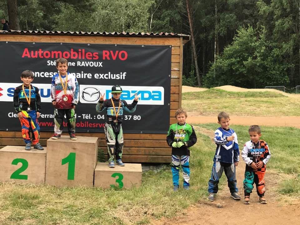 Résultats du championnat du Puy de Dôme à Orcines : 3 champions