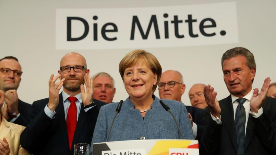 Radio-Canada / Angela Merkel à la tête de l'Allemagne pour un 4e mandat
