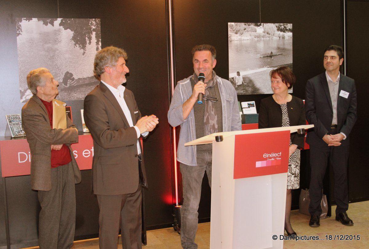 Joinville-le-Pont : Jean-Paul Didierlaurent lauréat du prix Cinélect 2015.