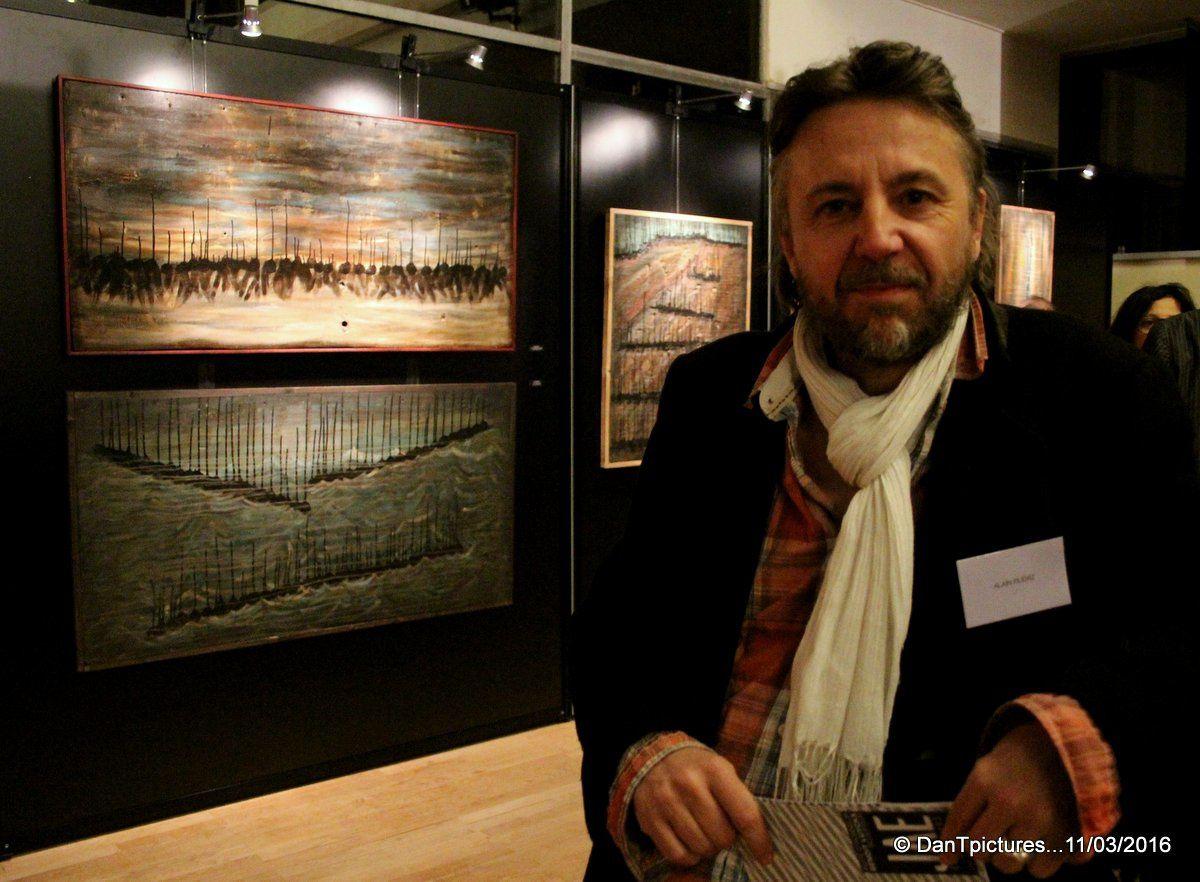 Joinville Art Expo : Une grande diversité de talents autour du sculpteur Benoit Luyckx.