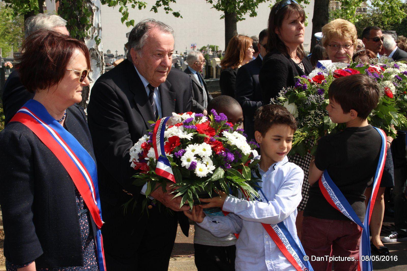 Joinville-le-Pont : 8 mai 1945 , la victoire de la liberté sur la barbarie nazie !