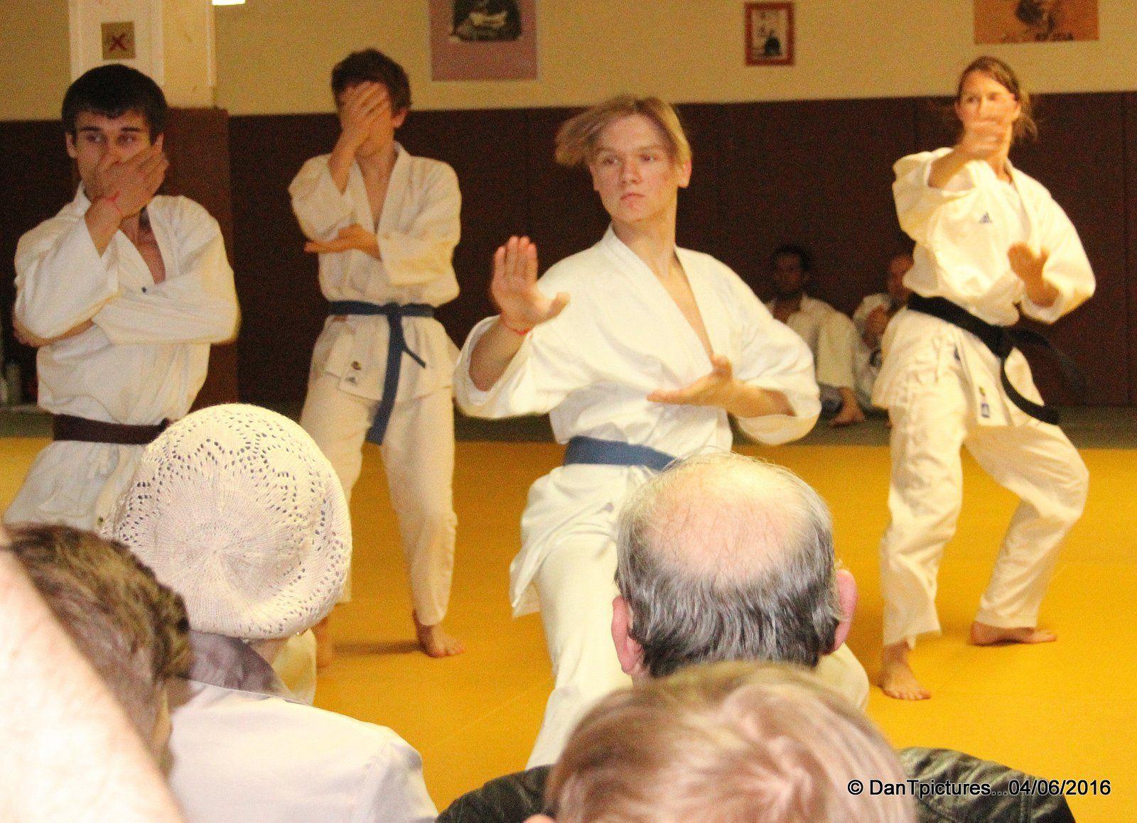 Le Shotokan karaté club de Joinville-le-Pont fait son show