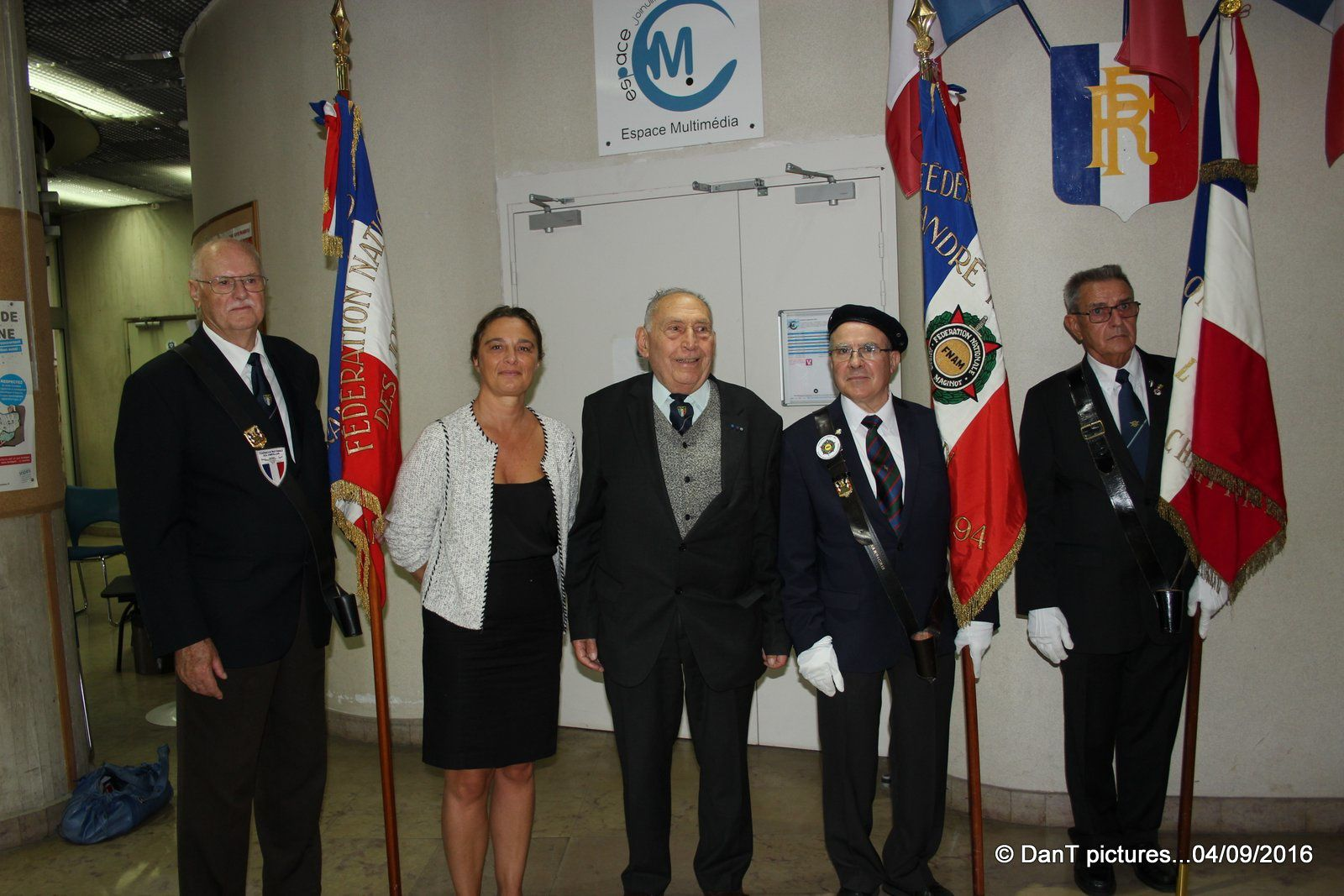 72 ème anniversaire de la libération de Joinville-le-Pont...les images des cérémonies.