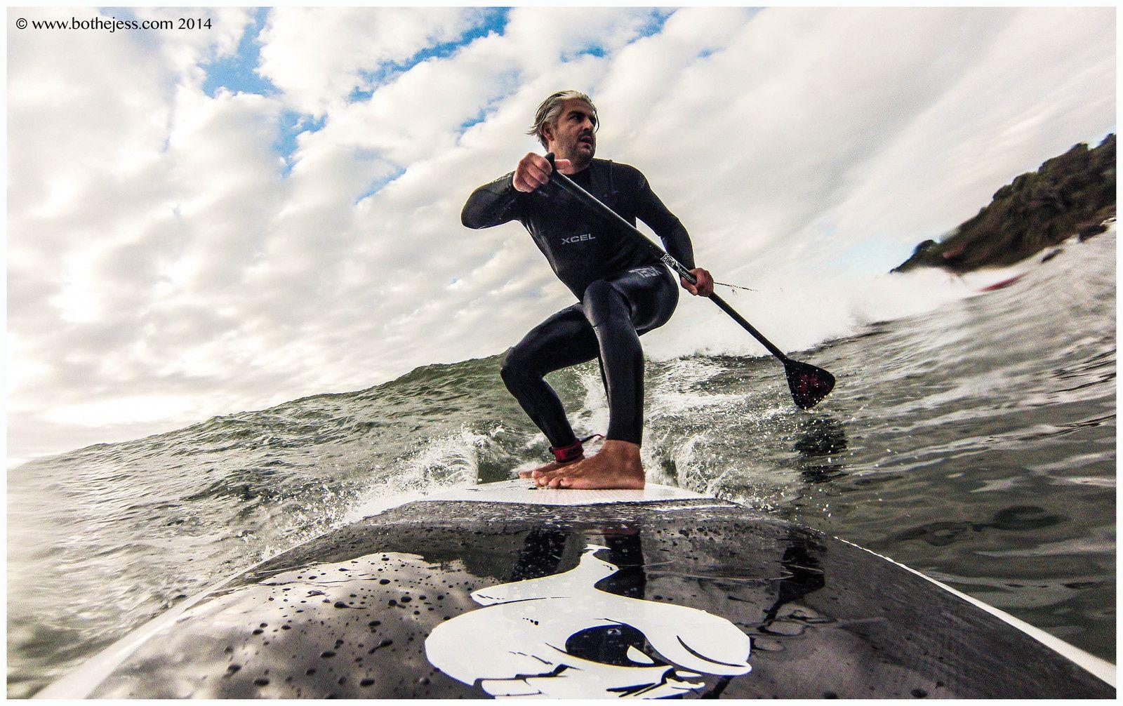 Dimanche surf pour la tribu