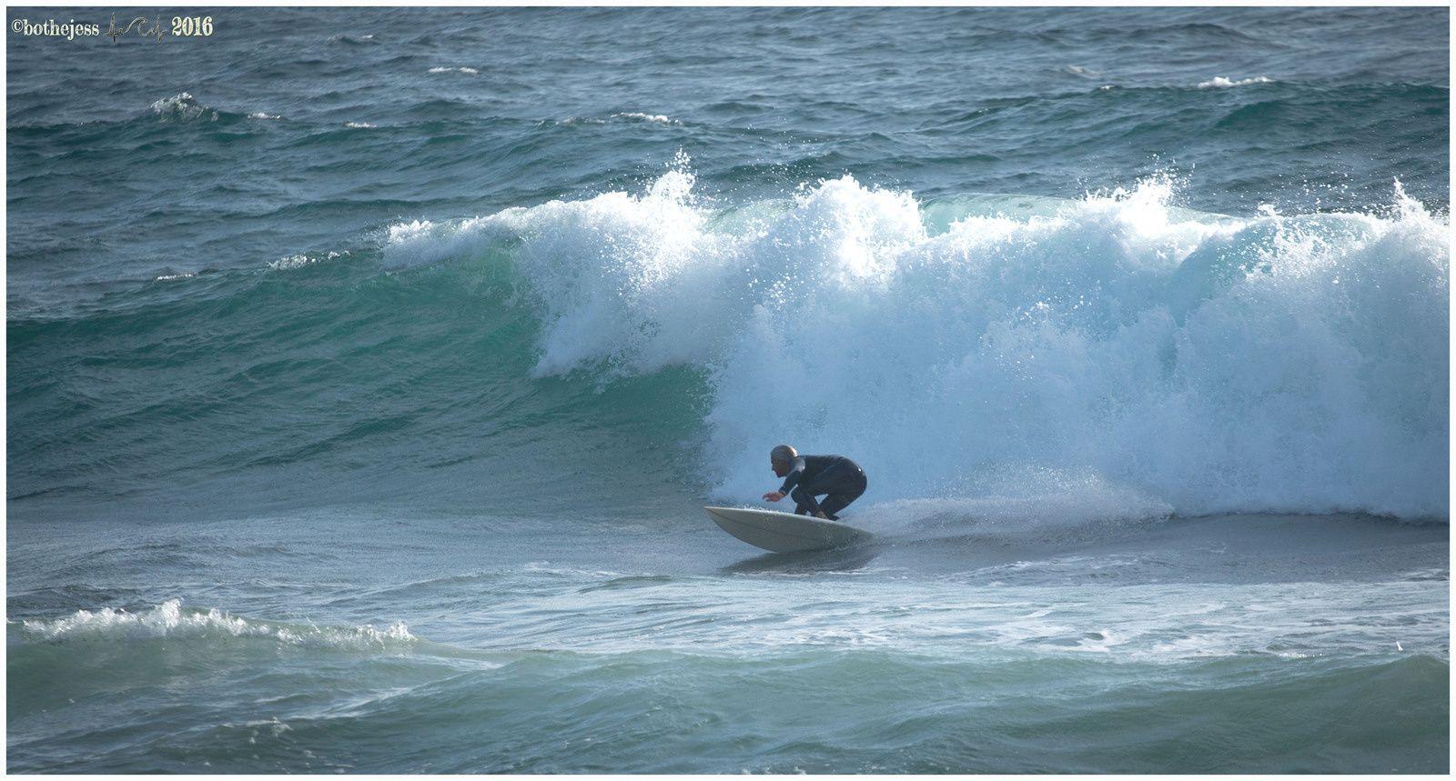 Les vagues arrivent