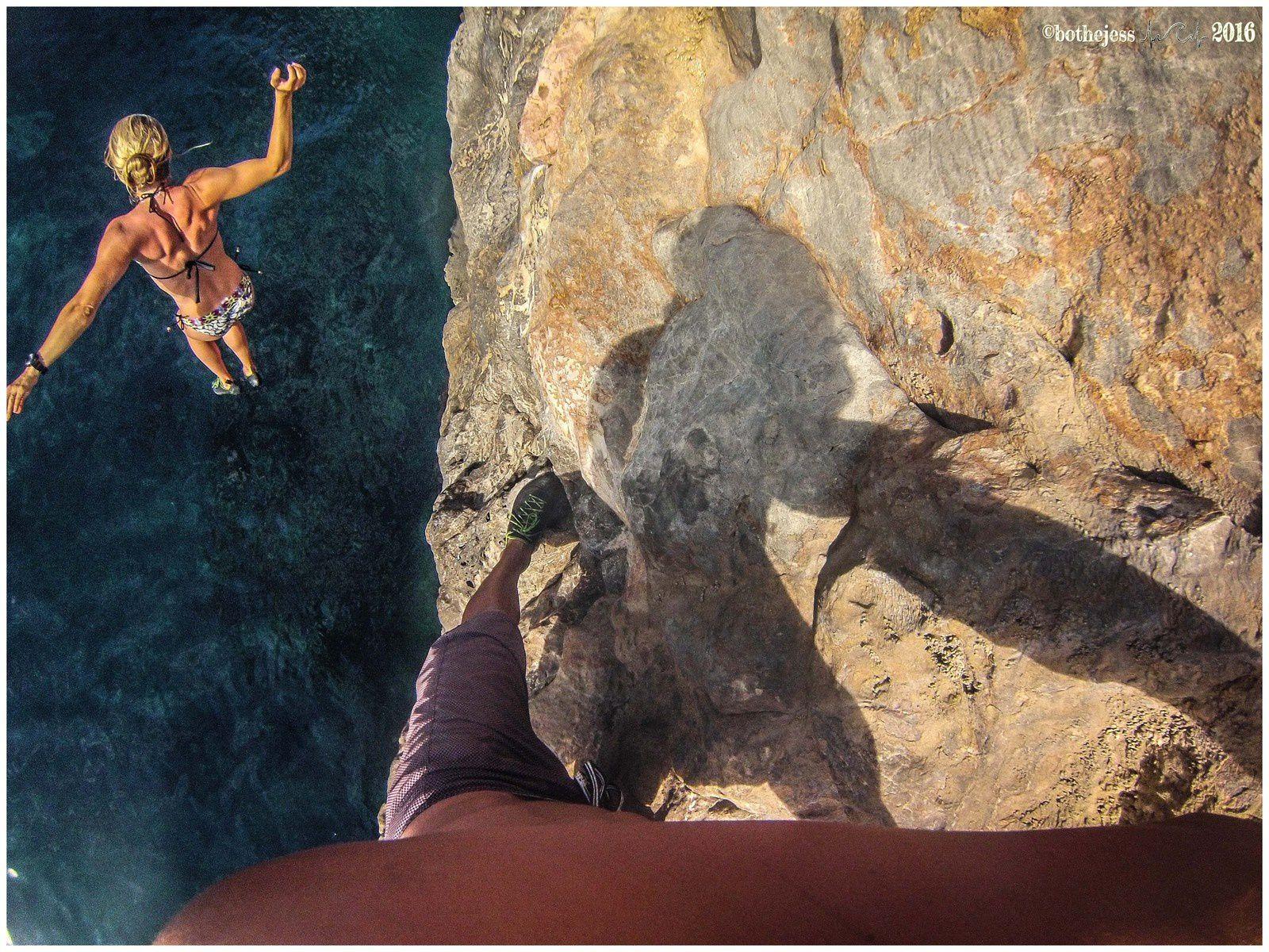 Grotte avec les copains