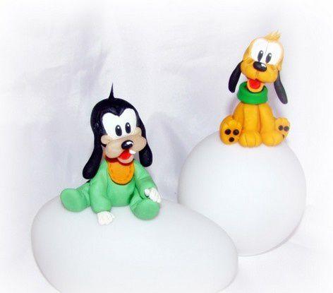 L'univers de Disney... Minnie, Mickey, Donald, Rifi, Fifi, Loulou, Pluto, Dingo