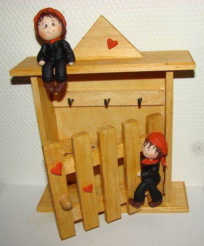 Boîte à clés &quot&#x3B;petits ramoneurs&quot&#x3B;...