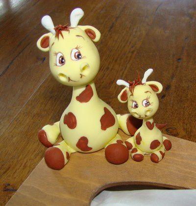 Boîte à mouchoirs... girafes...