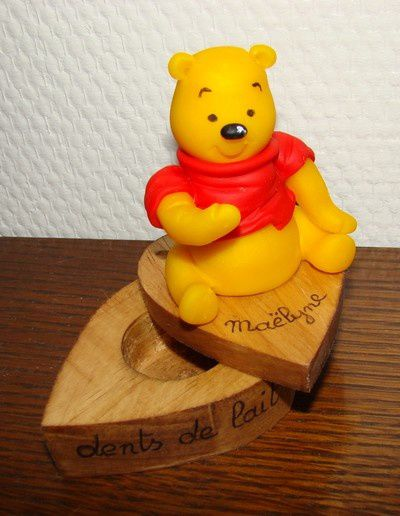 Boîte à dents Winnie l'ourson...