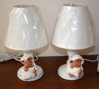Lampes de chevet, chambre d'enfant...