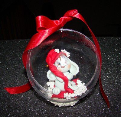 Boule premier Noël...