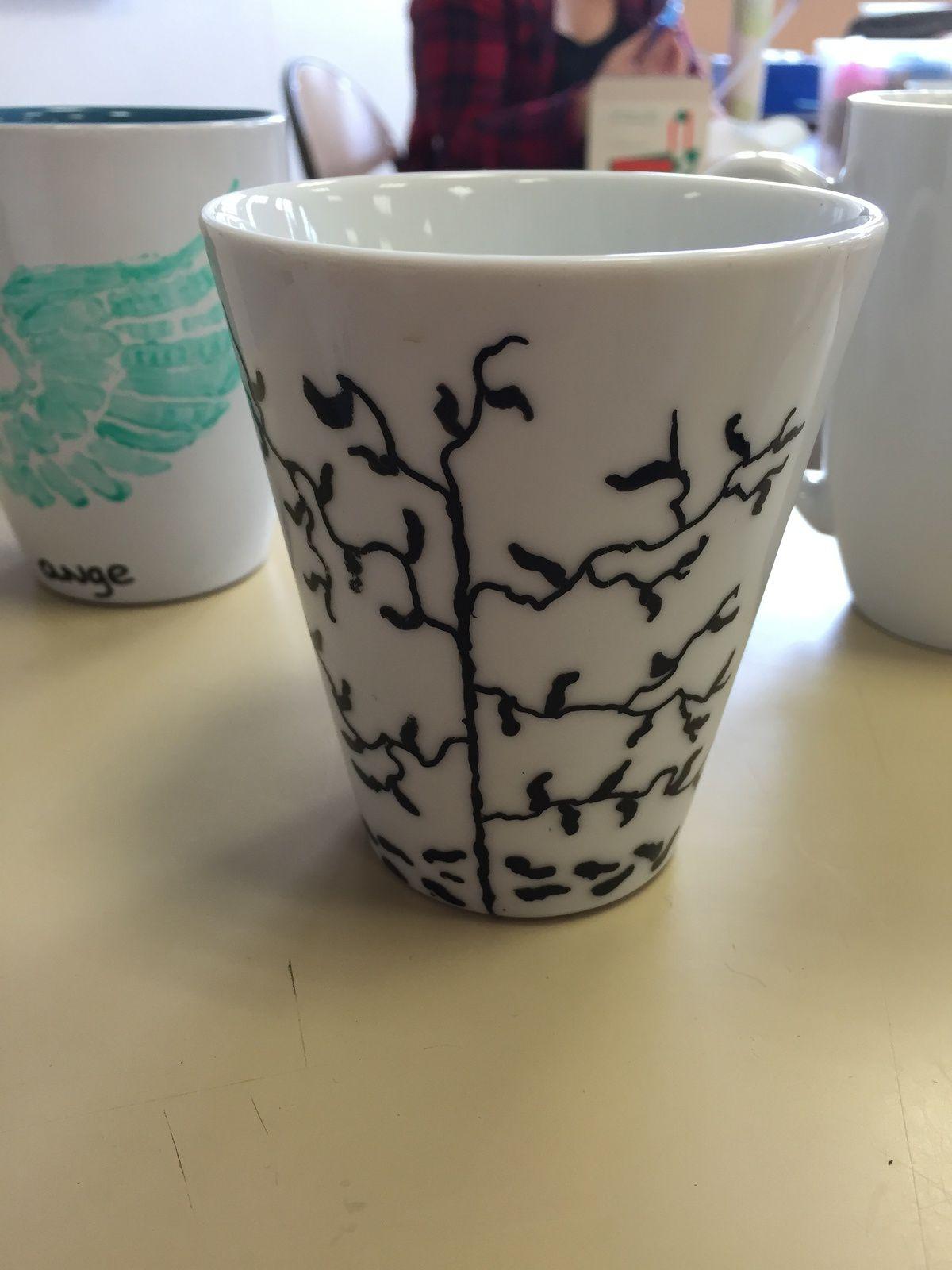Atelier peinture sur porcelaine
