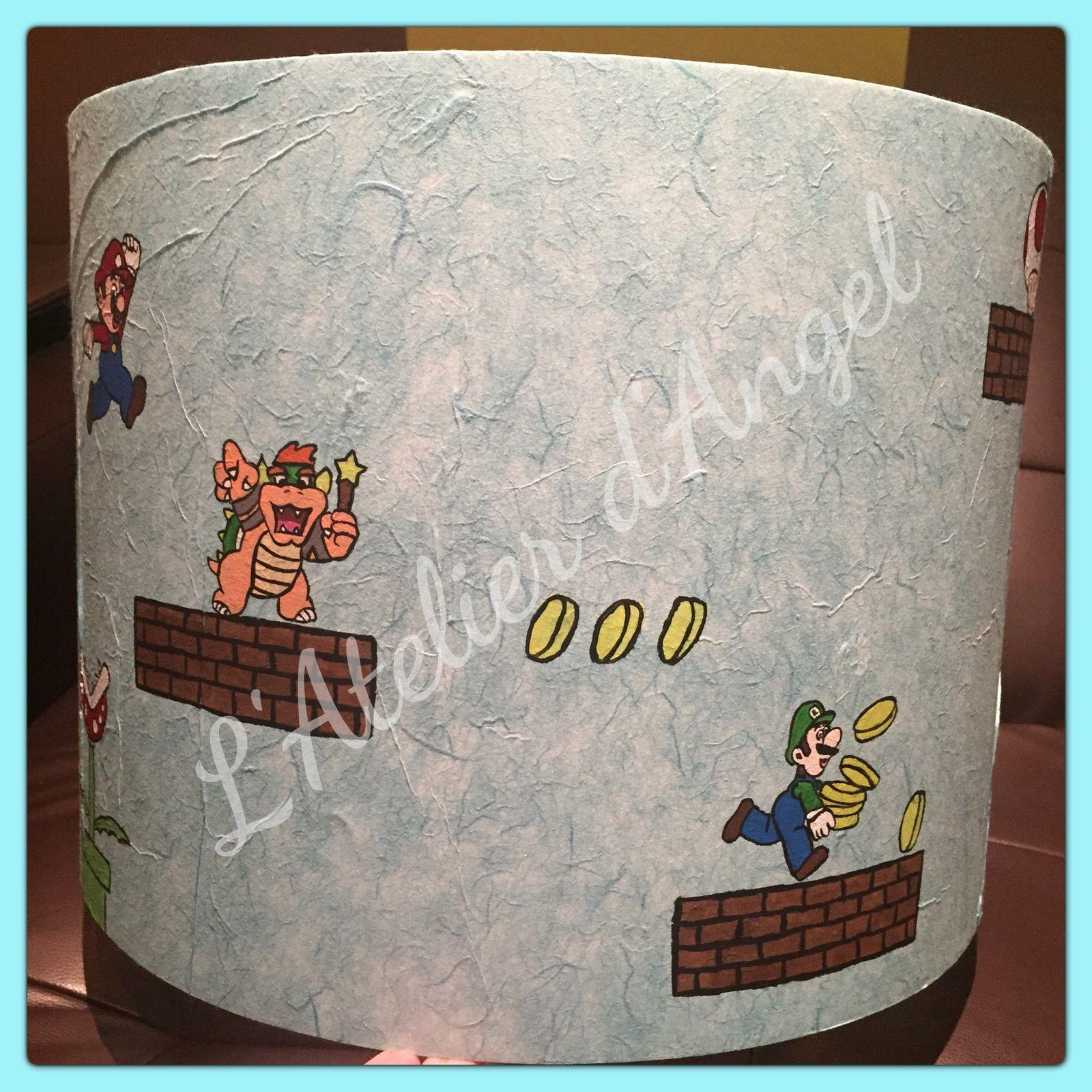 Décoration de chambre Mario et ses amis
