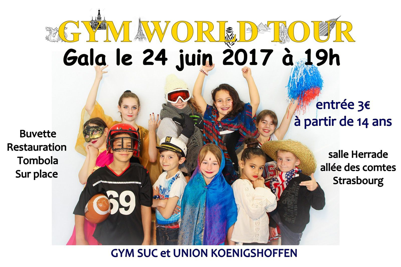 GYM WORLD TOUR 24 juin 2017