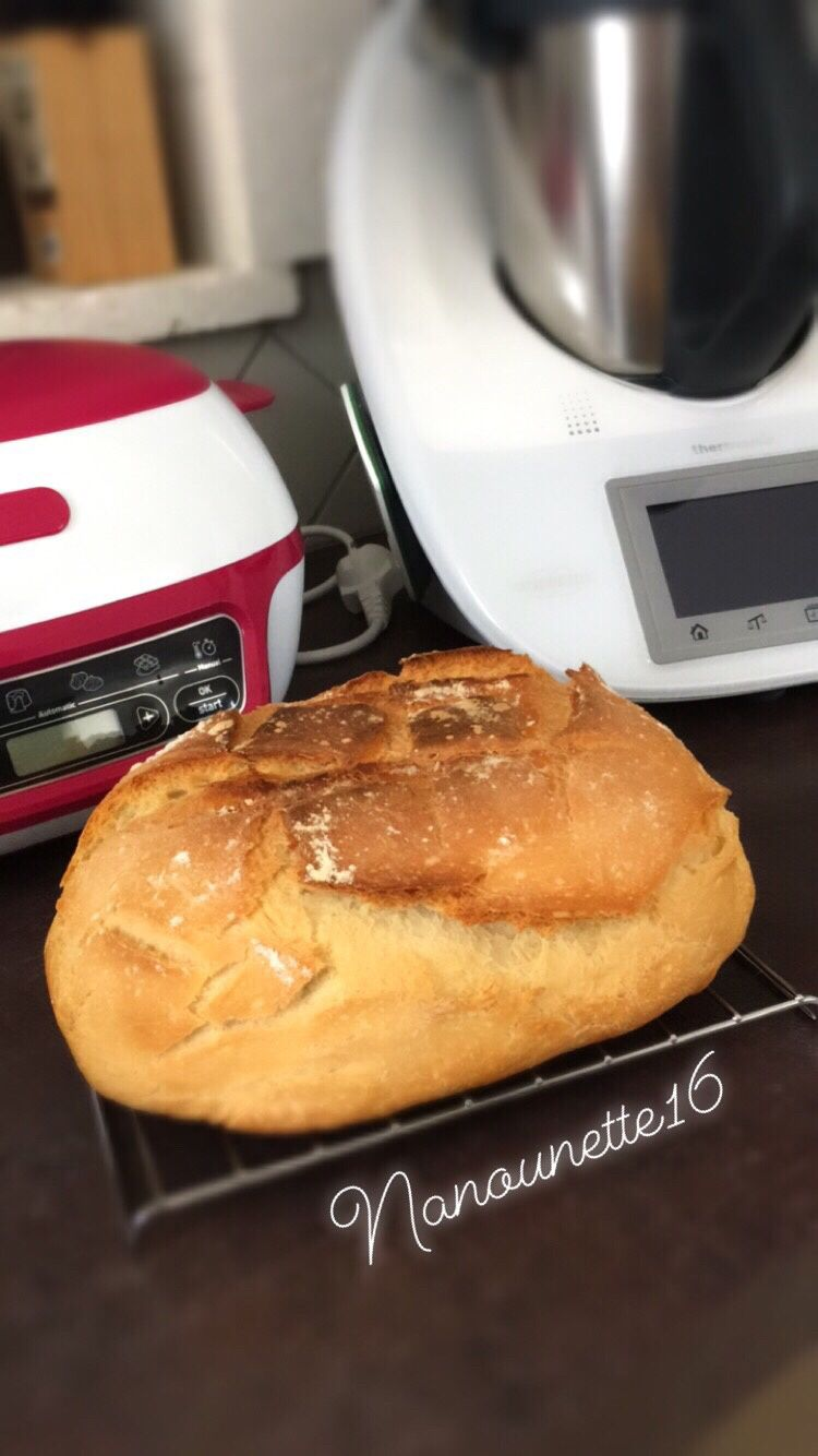 Pain cocotte - Thermomix