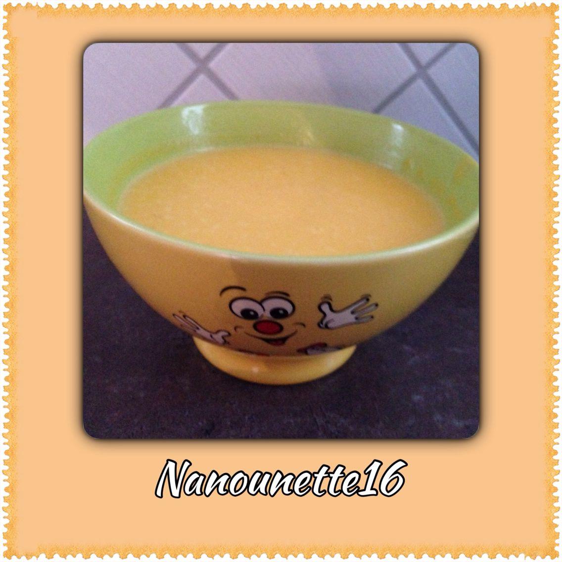 Soupe de potiron-pommes de terre