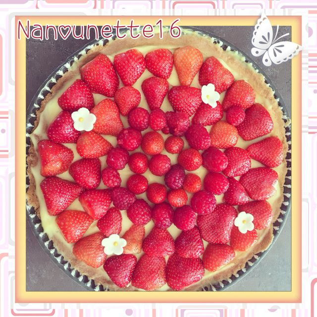 Tarte aux fruits rouges / THERMOMIX