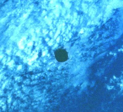 UN OVNI DE 8 KM SUR UNE PHOTO DE LA NASA