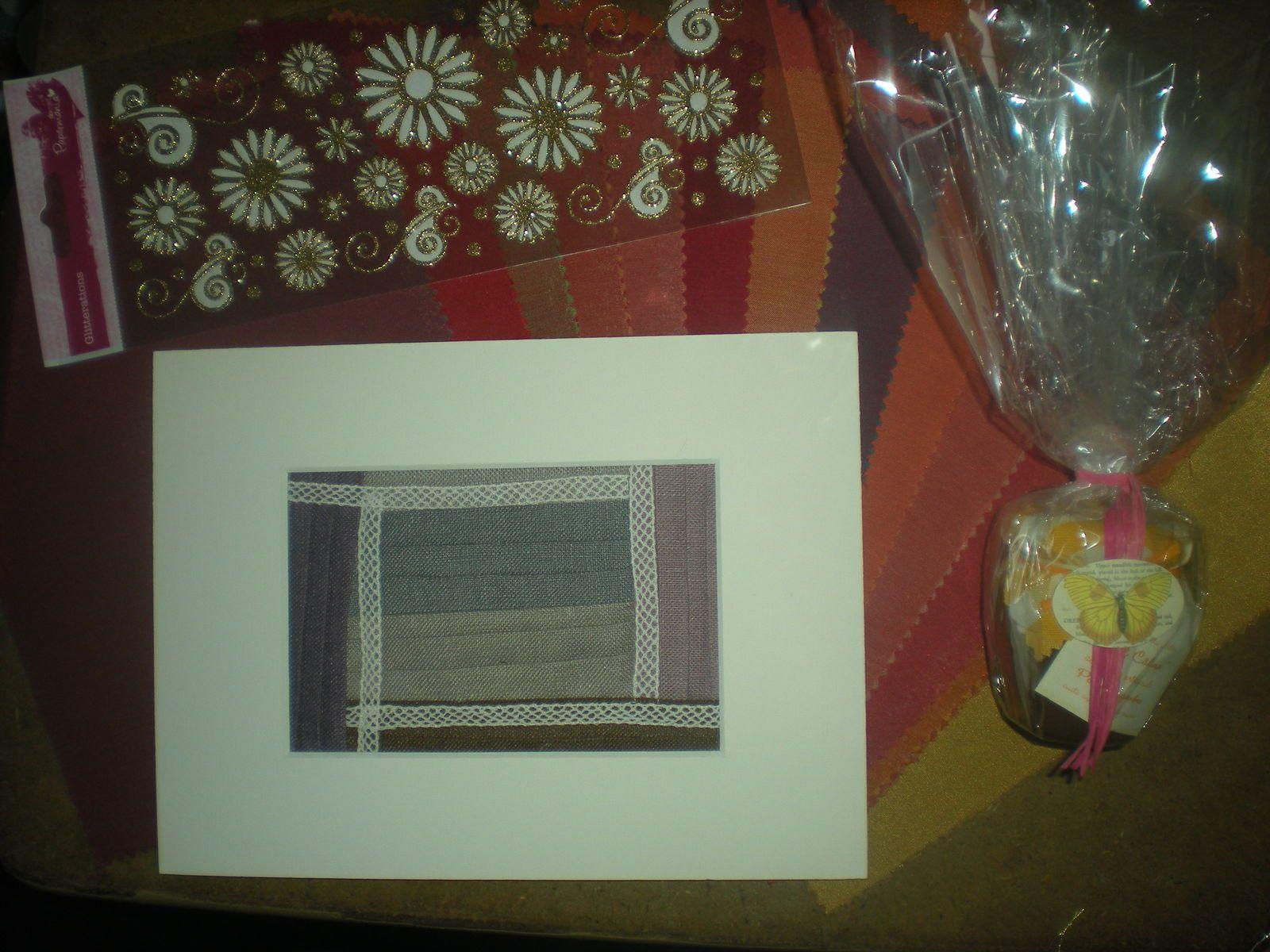 cartes de voeux et petits cadeaux....