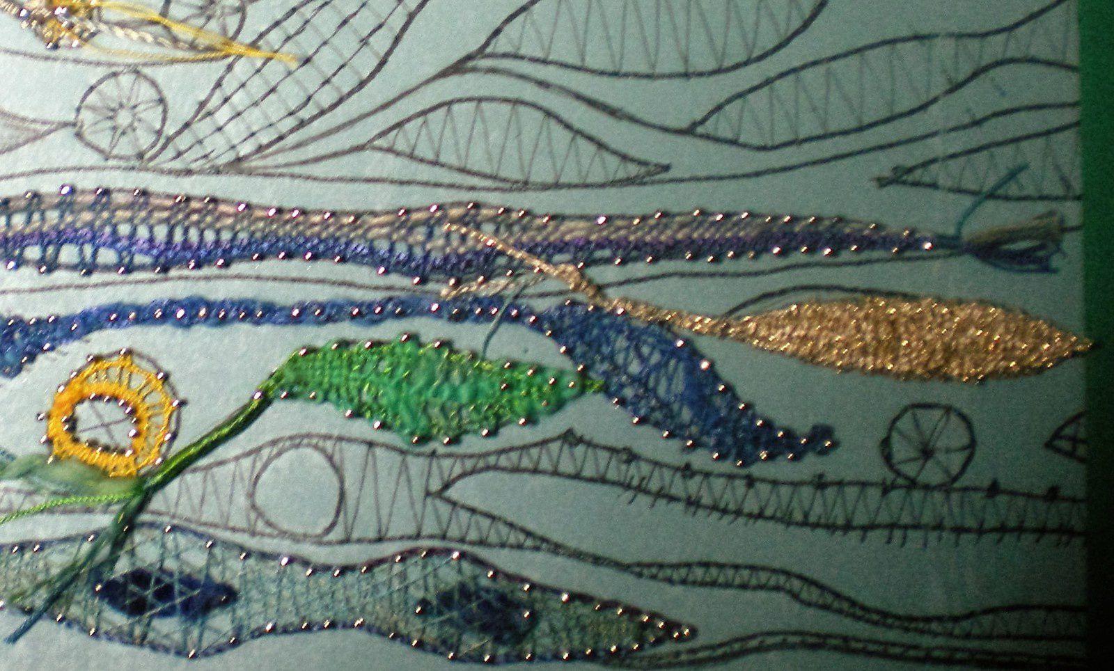 Art textile....et dentelle