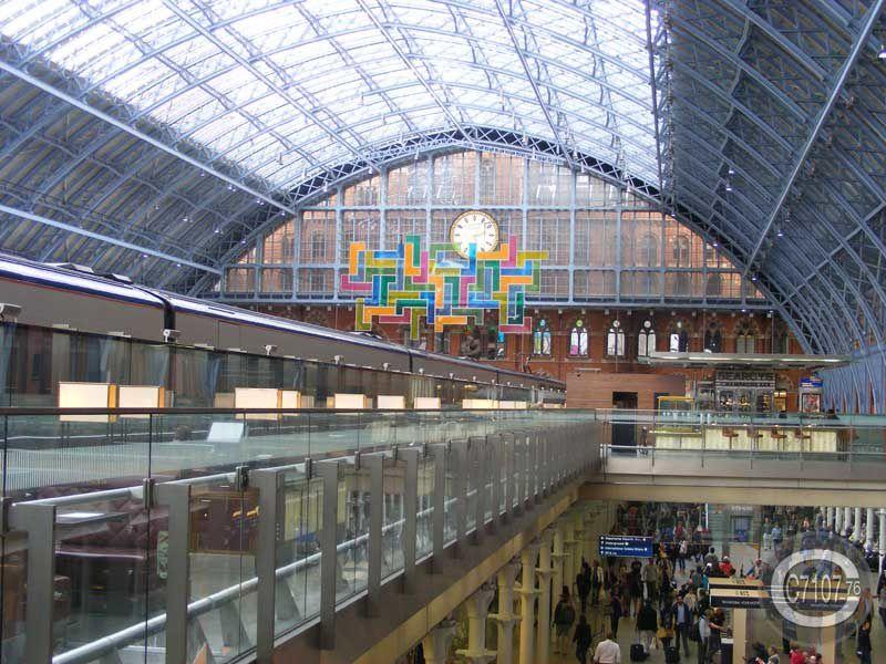 Séjour à Londres - Arrivée à St Pancras Part 2