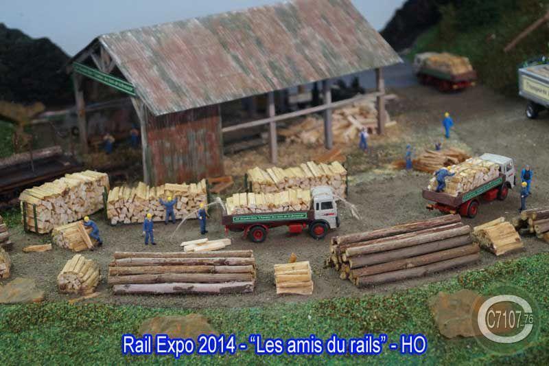 Visite à Rail Expo 2014