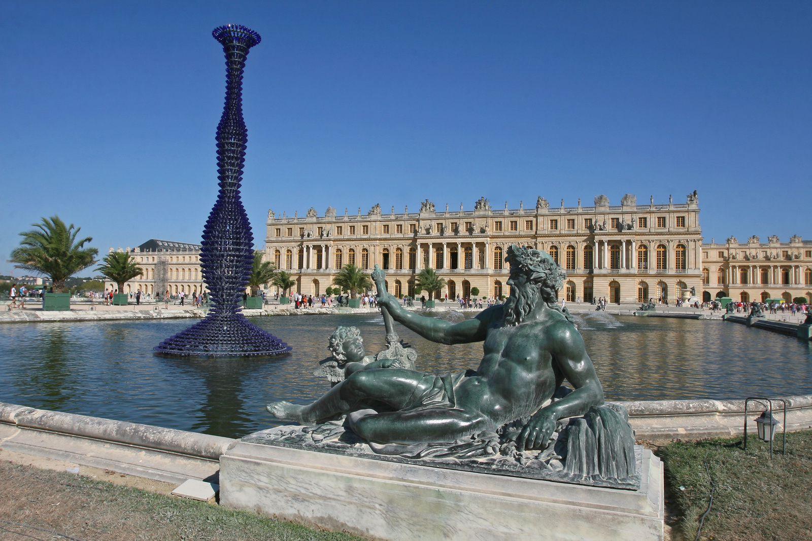 Le Rhône et Blue champagne à Versailles