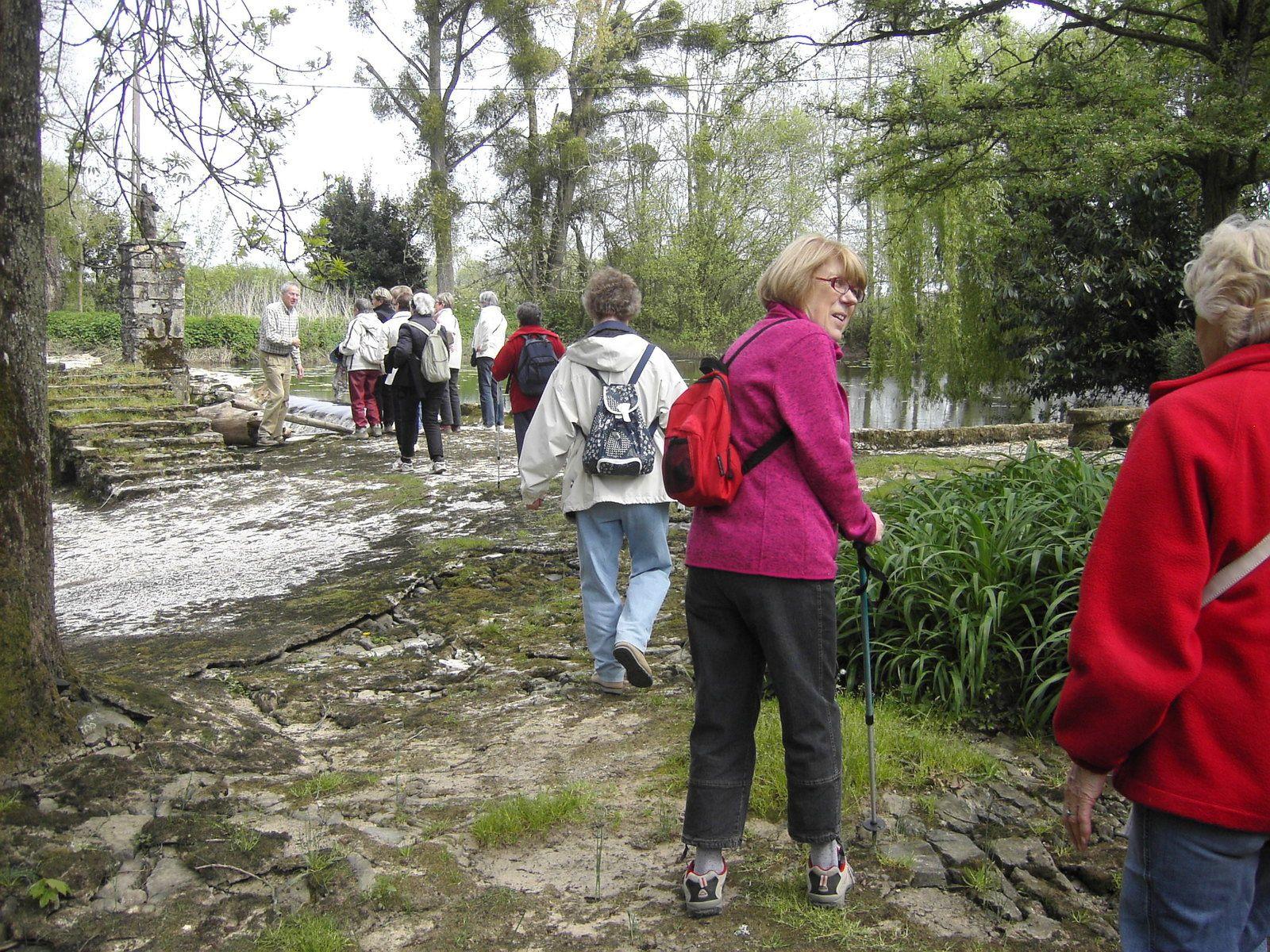 """Le groupe des """"Randos 6 Km"""" à Saint Colomban"""